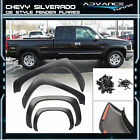 1999-2006 Chevy Silverado Fender Flares Vent Black OE Factory Style 4Pcs