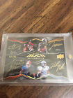 2009 Upper Deck Black Quad RC Auto Percy Harvin, Crabtree, Maclin, Nicks 20