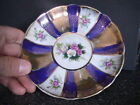 Cute Unique Vintage Japan Shafford Saucer Only Hand Decorated -Some wear-