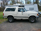 Ford  Bronco Custom Sport Utility 2 Door 1987 ford bronco custom sport utility 2 door 50 l