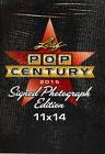 2015 Leaf Pop Century Signed 11x14 Photograph Photo Edition Hobby Box