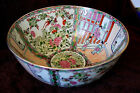 Rare Vtg Extra Large Chinese Porcelain Centerpiece Bowl Hand Painted U W 1897