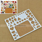 Paper Quilling Template Board Papercraft DIY Tool Scrapbooks Free Shipping 1PC