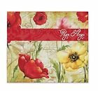 C.R. Gibson Cookbook Page Flag Set by Susan Winget, Poppies