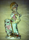 Vintage Capodimonte? Italy? Porcelain Lady Figurine  Marked N in circle
