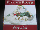 Fitz and Floyd Gregorian Christmas Serving Bowl