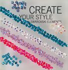 Swarovski Crystal 4mm Bicone Beads AB 2X Colors 24 PC PACK Choose color