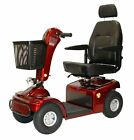 Shoprider Sprinter XL4 Mobility Power Scooter Medical Electric 4 Wheel Chair Red