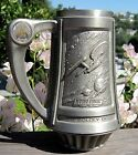 Vintage 1991 Pewter FRANKLIN MINT Star Trek 25th Anniverary Tankard Heavy