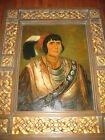 ORIGINAL SIGNED ART TROY DENTON ROYAL INDIAN CHIEF