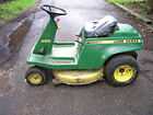 JOHN DEERE S82 REAR ENGINE RIDING LAWN MOWER WITH CUTTING DECK
