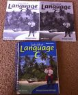 A Beka Language C Work Text Teacher Edition Spiral Grade 6 Tests Quizzes