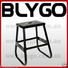 BLACK Steel Static 405mm Stand 50cc 125cc 150cc 160cc PIT PRO TRAIL DIRT BIKE