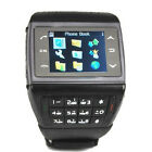 Unlocked wrist watch Mobile Cell Phone Quad Band Camera Touch Screen keyboard
