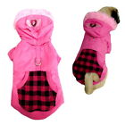 Dog Coat Designer Pink Weatherprpoof XS S M Chihuahua Jacket Puppy Pet Clothes