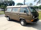 Volkswagen  Bus Vanagon Westfalia camper 1985 volkswagen westfalia camper vw westy campmobile pop top camper