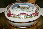 1991 Heritage House Melodies of Christmas Music Box