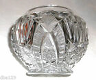 ANTIQUE EAPG EARLY AMERICAN PATTERN GLASS CRYSTAL JAR BASE DAISY/PINEAPPLE/STAR