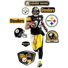 Fathead NFL Pittsburgh Steelers Hines Ward Wall Graphic New