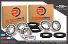 Front & Rear Wheel Bearings & Seals for Honda CB750 F2 Seven Fifty CB 750 92-03