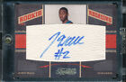 2010-11 TIMELESS TREASURES JOHN WALL RARE GOLD #02 10 AUTO RC JERSEY NUMBER