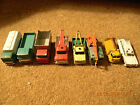 8 VINTAGE MATCHBOX TRUCK/BUS/TIPPER MADE IN ENGLAND MIX LOT C