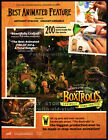 2 THE BOXTROLLS Original 2014 Trade AD promos 2 lot BEST ANIMATED FEATURE ads