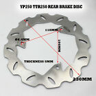 BRAKE DISC ROTOR DISK REAR BACK FOR YAMAHA TTR250 YP250 REAR 250 TTR MOTROBIKE
