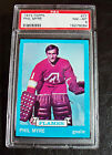 1973-74 Topps #77 Phil Myre Flames Graded PSA 8 NM-MT INCREDIBLE!