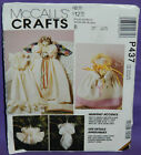 Uncut 1993 McCall's Crafts Heavenly Accents Pretty Angels & Dolls Pattern P437