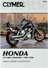 CLYMER Repair Manual for Honda VT1100C Shadow 1985-1990, 1992-1996