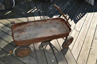 Vintage Old School original Radio Flyer Wagon
