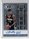 Paul George 2010-2011 Panini Totally Certified Rookie Auto Jersey 578 599 10-11