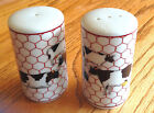 Takahashi Collectible Salt & Pepper Shakers - COWS for the cow lover!