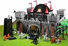 New Deluxe Medieval Castle Play Set by Toy Major - Towers Knights Horses Weapons