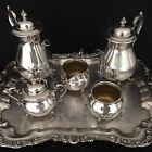 SHERIDAN SILVER PLATE, ANTIQUE, NO VISIBLE FLAWS, RARE HALLMARK, MAKE AN OFFER