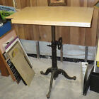 Antique Industrial Steampunk Cast Iron Drafting Table Base heavy