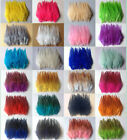 Beautiful 50pcs 100pcs rooster tail feathers 10 15cm 4 6inch 30 Colors