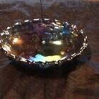 Depression Glass Footed Fruit Bowl Large Size