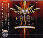 FATAL FORCE Unholy Rites +1 JAPAN CD 2nd 2012 Danish Torben Enevold Mike Vescera