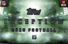 2015 Topps Inception Football Factory Sealed Hobby Box