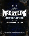 2015 Leaf Wrestling Auto Autographed Signed 8x10 Photograph Edition Hobby Box