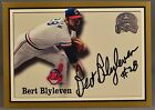 00 Fleer Greats of the Game Bert Blyleven MLB CLEVELAND INDIANS ON CARD AUTO