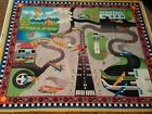 Airport Fabric Panel Play Mat Quilt Top Wall Hanging Material