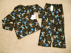 NWT DISNEY XS 4 5 PHINEAS AND FERB PERRY AGENT P 2 PIECE PAJAMAS SET L/S PJ PANT