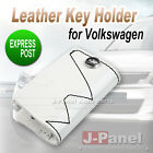 Volkswagen Leather Key Fob Holder Polo Mark Golf Mk4 5 6 Tdi R Line Exterior