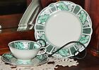 Vintage 1920's Seltmann Weiden (Bavaria) Dessert Set, 6 Place Settings,Tea Trio