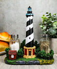 Nautical Beacon Lighthouse of Cape Hatteras Figural Salt and Pepper Shakers Set