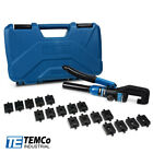 TEMCo Hydraulic Cable Lug Crimper TH0006 V20 12 AWG to 00 2 0 Cable Wire