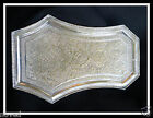 Unusual Vintage Silver Plate Tray – With Intricate Etching